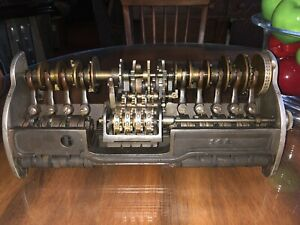 National Cash Register Class 33 Counter For Brass Register