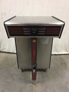 Curtis Milano Commercial Twin 1 5 Gallon Coffee Brewer System Tcp2t10a3100