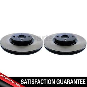 2x Centric Parts Front Disc Brake Rotor For Fiat 124 Spider 2017 2019