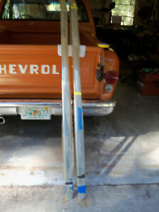 1957 Chevrolet Belair Nos Rocker Mouldings With Clips