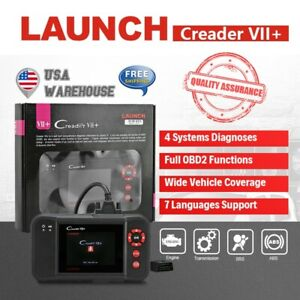 Launch Creader Vii Auto Diagnostic Scan Tool Car Code Reader Four Systems Test