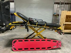 Stryker Lx 500 Lb Capacity Ambulance Stretcher Rugged Emt Ems W Backboard 3