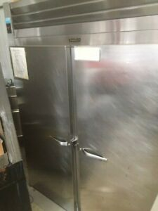 Traulsen Refrigerator Two Door Double Roll In Used Great Condition