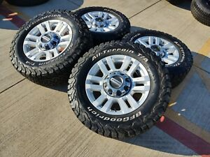 18 Ford F 250 F 350 Oem Rims Wheels A t Tires 10098 2017 2018 2019 2020 2021