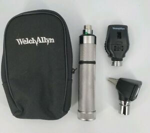 Welch Allyn Student Diagnostic Set Otoscope Ophthalmoscope c Battery Handle