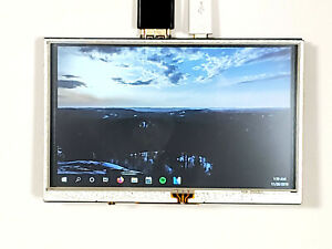 Portable Micro usb Powered Hdmi 5in Monitor Raspberry Pi Touch Screen