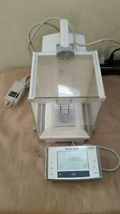Mettler Toledo Xs204 Excellence Analytical Balance 220 Gx0 1 Mg W Adapter Great