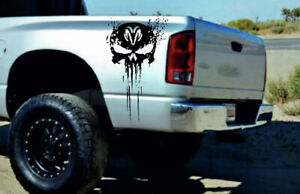 Dodge Ram 1500 2500 3500 2pcs Sticker Stripes Graphics Vinyl Decal Sticker Logo