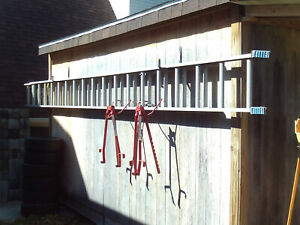 Aluminum Extension Ladder 30 And Ladder Jacks Local Pickup Only