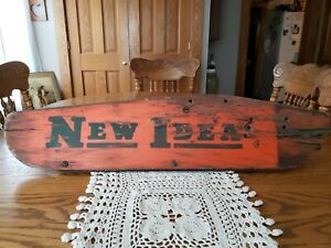 Vintage New Idea Sickle Mower Wood Guard Great For Displaying Great Patina
