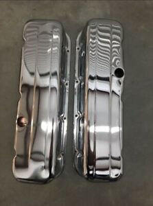 Big Block Chevy Valve Covers Gen Iv Tall Steel With Chrome Finish