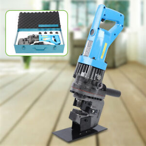 900w Electric Hydraulic Hole Punch Mhp 20 With Die Set Steel Local Metal 110v Us