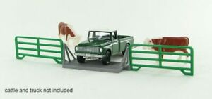 1 64 Livestock Cattle Crossing Gate 3d To Scale Diorama Display Farm
