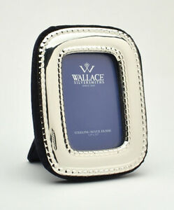 Wallace Sterling Silver Photo Frame 3 1 4 X 2 1 2