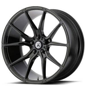 4 22 Staggered Asanti Wheels Abl 13 Vega Gloss Black Rims b2