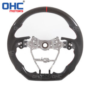 100 Real Carbon Fiber Steering Wheel For Toyota Camry Corolla Rav4 Avalon