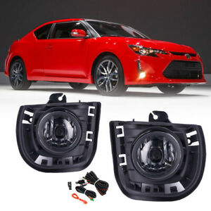 For 2014 2016 Toyota Scion Tc zelas Fog Lights Driving Lamp Pairs W switch