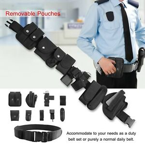 Rig Gear Nylon Police Officer Security Guard Law Enforcement Equipment Duty Belt