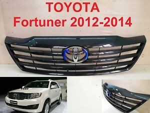 Toyota Fortuner Trd Front Grille Grill Parts Style Kevla Film Carbon 2012 2014