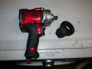 Mac Tools Mpf990501 1 2 Pneumatic Impact Air Wrench 1400 Ft Lbs Bare Tool 474