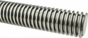 1 5 X 36 Inch 3 Foot Acme Threaded Rod 3ft