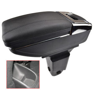 Car Armrest Center Console Storage Box For Peugeot 206 206 207 Compact Tray