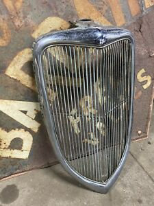1934 Ford Grill Hotrod Scta 1933 1932 Chrome Grille Flathead V8 Roadster Coupe