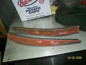 1958 Oldsmobile Buick Convertible Interior Rear Trim
