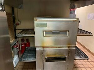 Middleby Marshall Ps200 Conveyor Pizza Ovens Natural Gas 32 Belt