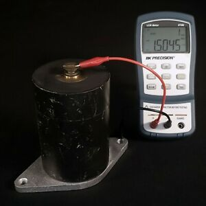 Cornell Dubilier Mica Transmitting Capacitor 1 5nf 25kv Rf Radio Tesla Tested