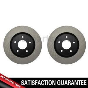 2x Centric Parts Front Disc Brake Rotor For Nissan Altima 2007 2013