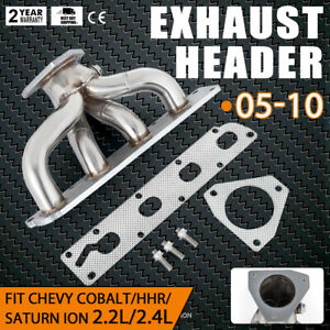 New Stainless Steel Exhaust Header Manifold For 05 10 Chevy Cobalt 2 2 2 4 Use