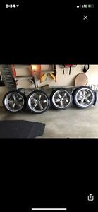 2005 2020 Ford Mustang Authentic Shelby Razor Wheels Tires