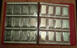 48 Coca Cola 1 Oz Silver Bars / Round With Official Binder! (Read For Details)