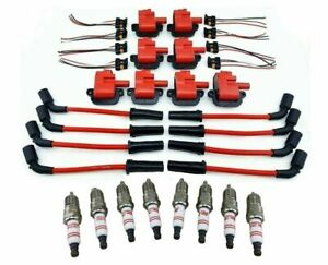 Ignition System Service Coils Wires Spark Plugs For 1997 05 Ls1 Ls6 5 7l V8