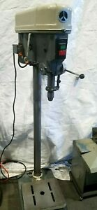 Delta Rockwell Drill Press Metal And Wood Has Cracked Bracket To Hold Table Up