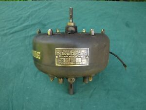 Antique Holtzer cabot Electric Co 1 8 Hp Electric Motor From Early 1900s