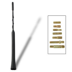 Antenna Whip Amplifier Booster Signal Am Fm Compatible Accent Cherokee Yaris 9