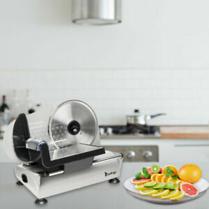 New Electric Meat Slicer 7 5 Blade 180w Cutter Food Cheese Kitchen Machine