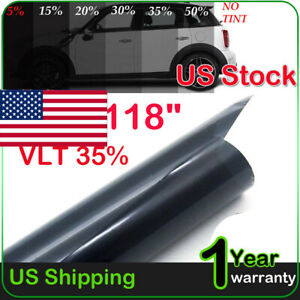 Uncut Window Tint Roll 35 Vlt 20 10ft Feet Home Commercial Car Office Film Us