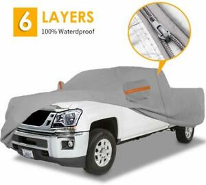 Pickup Truck Car Cover Waterproof Sun Uv Rain Snow Protection Dust Resistant