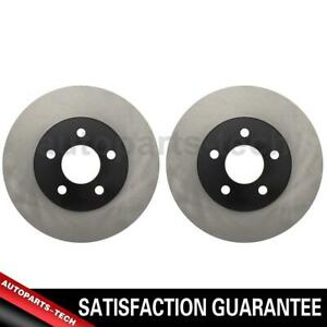 2x Centric Parts Front Disc Brake Rotor For Dodge Neon 1995 1999