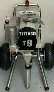 Tritech T9 Airless Paint Sprayer Free Extra Hose And Gun 250 00 Value