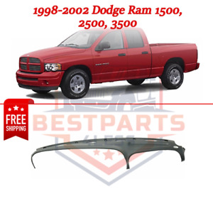 Graphite Gray Dash Cover For 1998 2002 Dodge Ram 1500 2500 3500