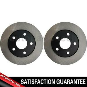2x Centric Parts Front Disc Brake Rotor For Jeep Wrangler 2007 2018