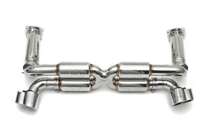 Fabspeed 996 Turbo Supersport Race 70mm X pipe Exhaust