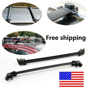 Roof Rack Cross Bar Cargo Carrier For 2017 2019 Jeep Compass Us Stock