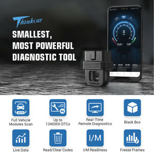 Thinkcar 1 Bluetooth Obd Obdii Scanner Full system Diagnoses For Ios And Android