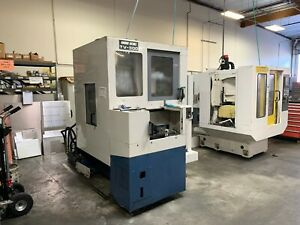 Mori Seiki Tv 300 Cnc Mill 1998 Pallet Changer Japanese Mill
