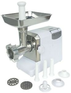 Electric Meat Grinder Light Duty Attachments Sausage Tubes And Pusher Included